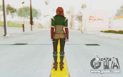 Triss Merigold for GTA San Andreas third screenshot