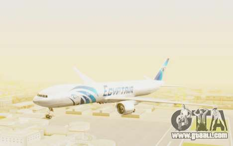 Boeing 777-300ER EgyptAir for GTA San Andreas