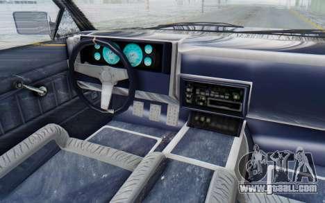 GTA 5 Willard Faction Custom Donk v3 IVF for GTA San Andreas inner view