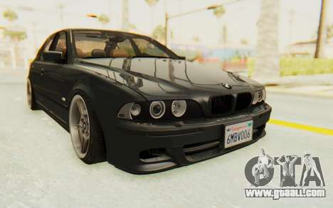 BMW M5 E39 M-Tech USDM for GTA San Andreas right view
