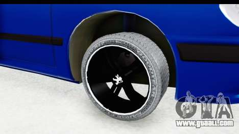 Peugeot 406 Cabrio Beta 0.8.3 for GTA San Andreas back view