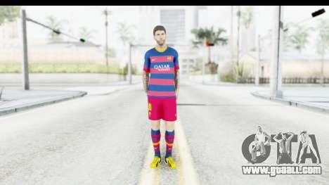 Lionel Messi for GTA San Andreas second screenshot