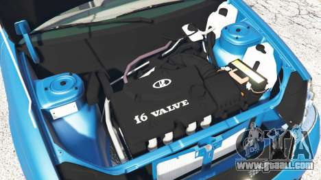 GTA 5 Lada Priora Sport Coupe v0.1 right side view
