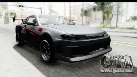 Nissan Silvia S15 Itasha for GTA San Andreas right view