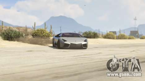 GTA 5 Lamborghini Reventon 7.1 right side view