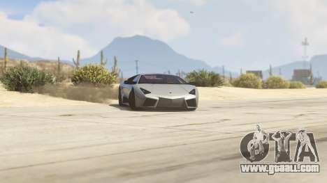 Lamborghini Reventon 7.1 for GTA 5