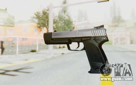 HK USP 45 Chrome for GTA San Andreas second screenshot