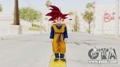 Dragon Ball Xenoverse Goten SSG for GTA San Andreas second screenshot