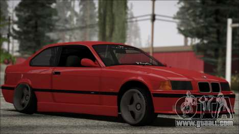 BMW E36 Stance for GTA San Andreas left view