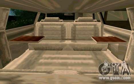 Tahoma Limousine v2.0 (HD) for GTA San Andreas side view