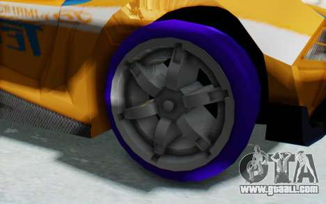 Hot Wheels AcceleRacers 4 for GTA San Andreas back view