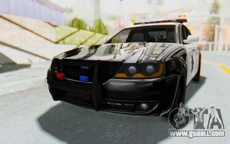 ASYM Desanne XT Pursuit v2 for GTA San Andreas