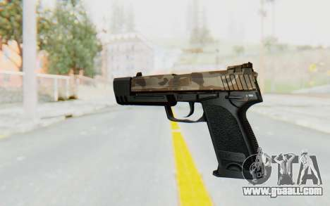 HK USP 45 Army for GTA San Andreas second screenshot