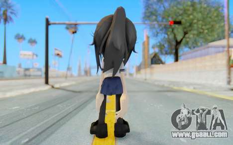 Yandere-Chan The Hedgehog for GTA San Andreas third screenshot