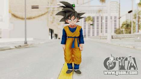 Dragon Ball Xenoverse Goten SJ for GTA San Andreas second screenshot