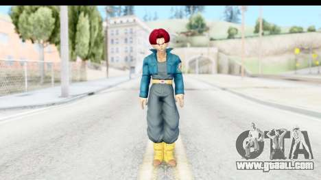 Dragon Ball Xenoverse Future Trunks SSG for GTA San Andreas second screenshot
