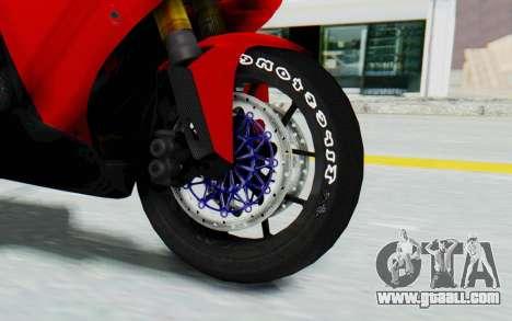 Yamaha YZF-R1 for GTA San Andreas back view