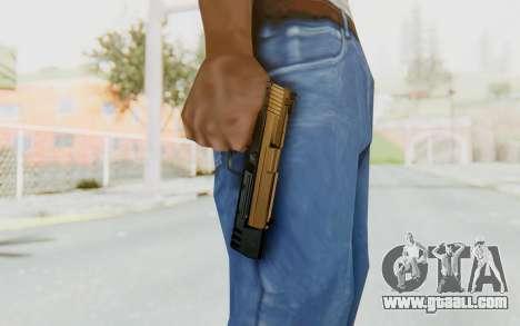 HK USP 45 Sand Frame for GTA San Andreas third screenshot