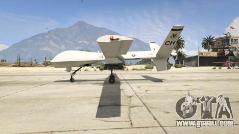 GTA 5 MQ-9 Reaper UAV 1.1 second screenshot