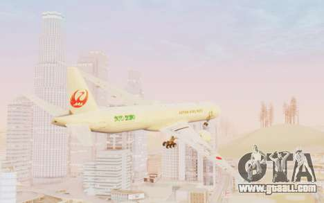 Boeing 777-300ER Japan Airlines v1 for GTA San Andreas left view