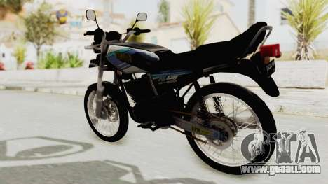 Yamaha RX King 135 1993 for GTA San Andreas left view