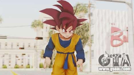 Dragon Ball Xenoverse Goten SSG for GTA San Andreas