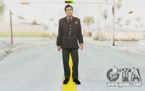 Mafia 2 - Vito Police Outfit for GTA San Andreas second screenshot