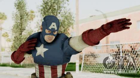 Captain America Super Soldier Classic for GTA San Andreas