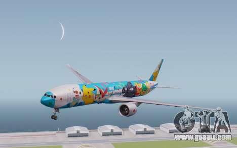Boeing 777-300ER ZK-OKR for GTA San Andreas