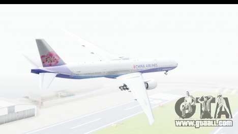 Boeing 777-300ER China Airlines Dreamliner for GTA San Andreas left view