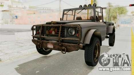 GTA 5 Canis Bodhi Trevor for GTA San Andreas