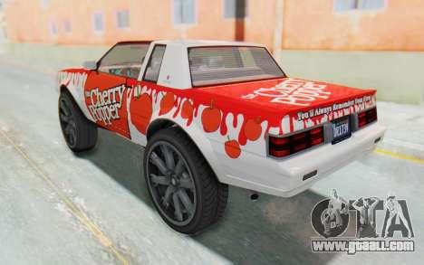 GTA 5 Willard Faction Custom Donk v2 for GTA San Andreas bottom view