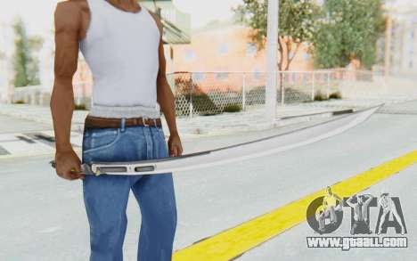 Yuri Katana for GTA San Andreas