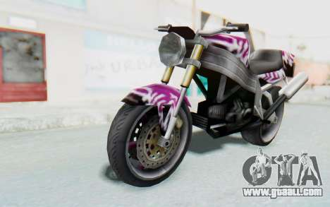 FCR-900 Custom v2 for GTA San Andreas