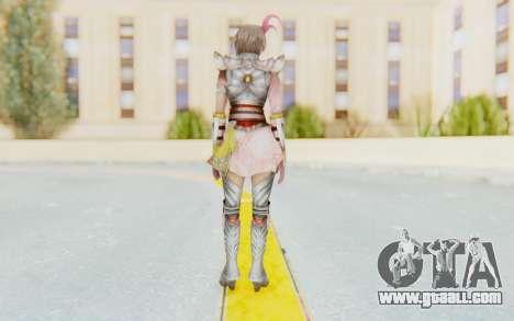 Dynasty Warriors 8 - Lu Lingqi v2 for GTA San Andreas third screenshot