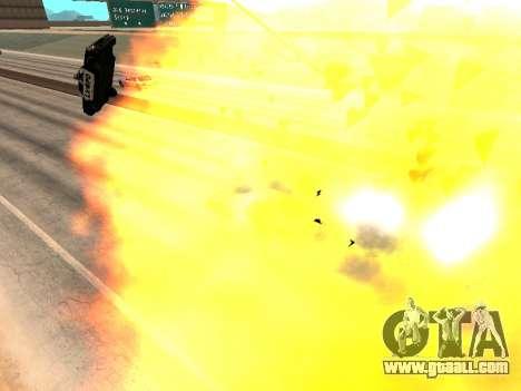 Blast machines for GTA San Andreas forth screenshot