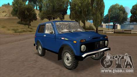 VAZ 2121 for GTA San Andreas right view
