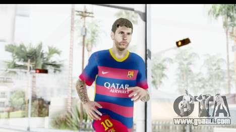 Lionel Messi for GTA San Andreas