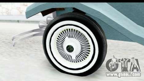 Unique V16 Fordor for GTA San Andreas back view