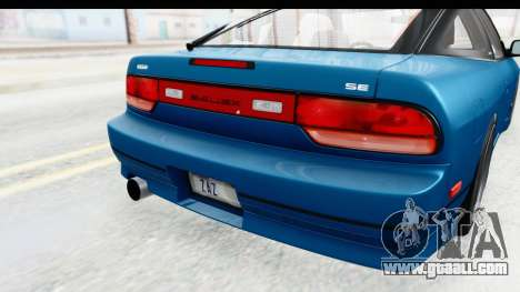 Nissan 240SX 1989 v2 for GTA San Andreas side view
