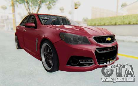 Chevrolet Super Sport 2014 for GTA San Andreas