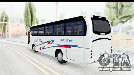 Neoplan Lasta Bus for GTA San Andreas left view