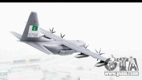 C-130 Pakistan for GTA San Andreas right view