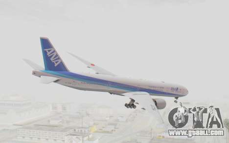 Boeing 777-300ER ANA JA735A for GTA San Andreas left view