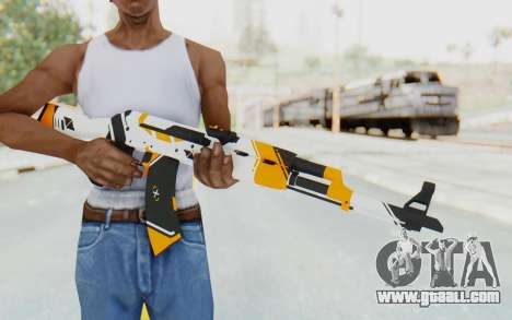 CS:GO - AK-47 Asiimov for GTA San Andreas third screenshot