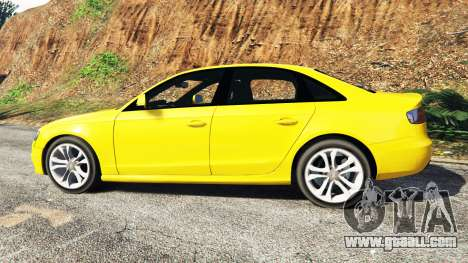 GTA 5 Audi A4 2009 left side view