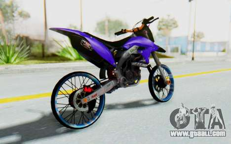 Kawasaki KLX150S Thailock Style for GTA San Andreas left view