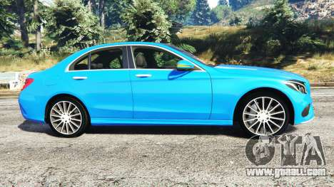 GTA 5 Mercedes-Benz C250 2014 left side view
