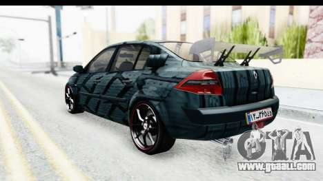 Renault Megane Sport for GTA San Andreas back left view