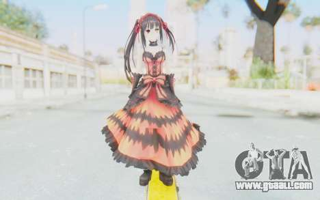 Kurumi Tokisaki (Date A Live) for GTA San Andreas second screenshot